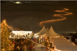 Livigno - Christmas time in Livigno centre