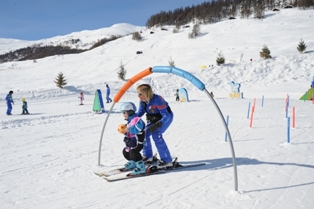 Livigno - Livigno is ideal area for kids - playground in Livigno centre