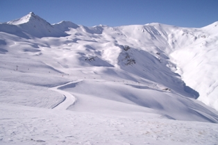 Livigno - view to the Federia valley